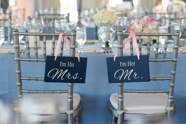 WEDDING SIGNS: WHERE THERE'S A SIGN THERE'S A WAY