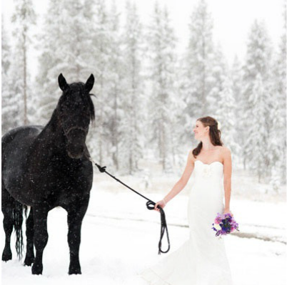 PERFECTLY SNOWY WEDDINGS