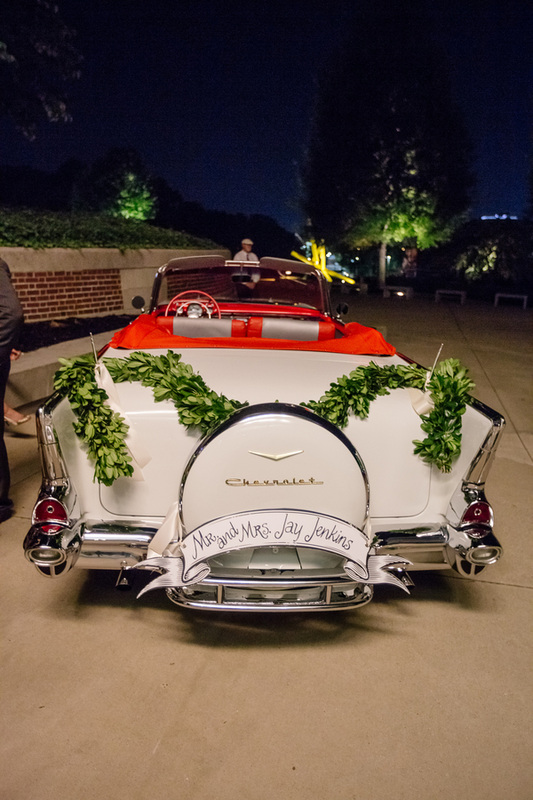 VINTAGE CHEVROLET for bride and groom