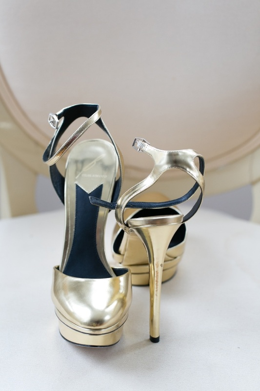 brian atwood gold wedding shoes