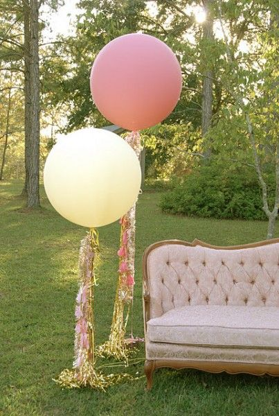large wedding ballons