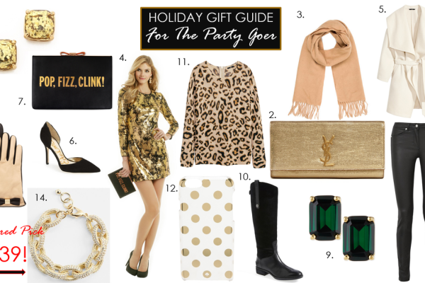 HOLIDAY GIFT GUIDE FOR THE PARTY GOER