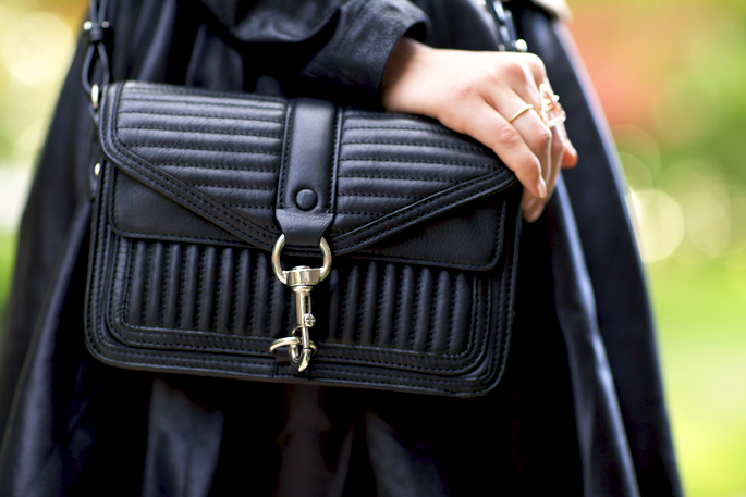 Bag: black Rebecca Minkoff via CUSP