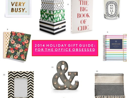 HOLIDAY GIFTS FOR THE OFFICE OBSESSED