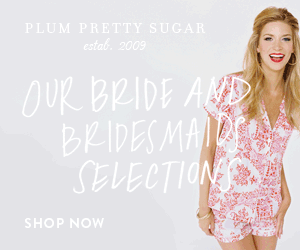 Plum Pretty Sugar bride and bridesmaids
