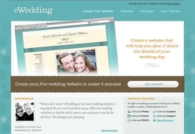 ewedding screenshot