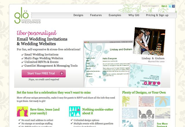 top 6 sites for creating a website for your wedding it