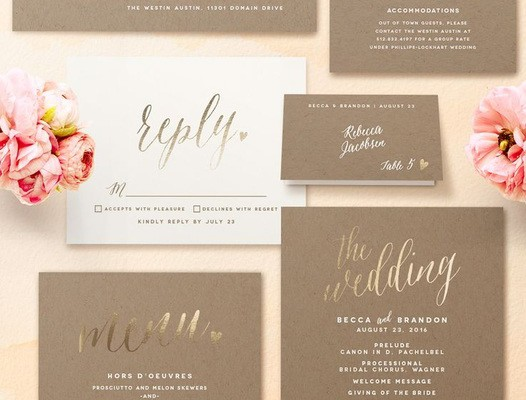 THE A, B, C'S OF SENDING WEDDING INVITATIONS
