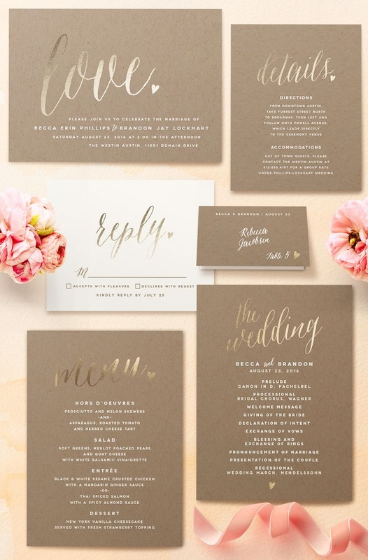 Wedding Invitation Suite How To Send Invitations Using The B List Method