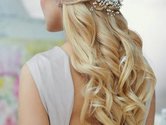 WEDDING HAIRSTYLE: THE HALF-UP DO + TUTORIAL
