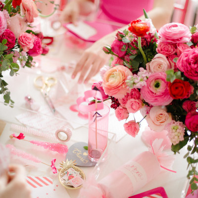 CRAFTY VALENTINE'S DAY BRIDAL PARTY