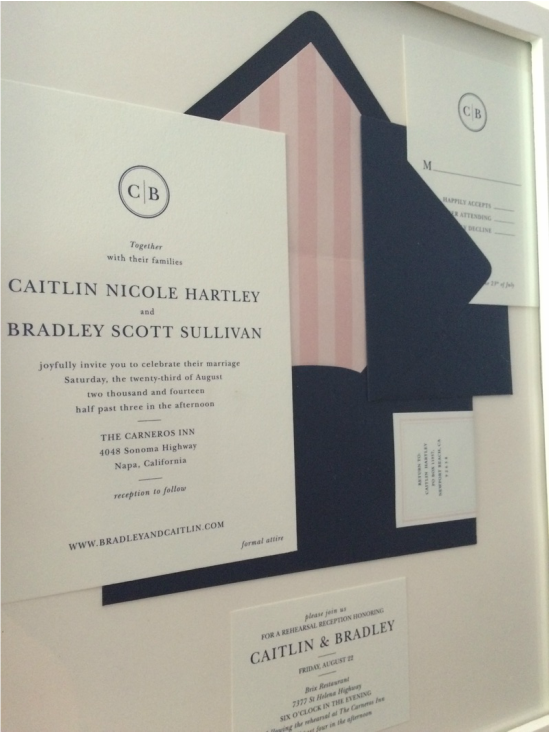 frame your wedding invitations | it girl weddings, Wedding invitations
