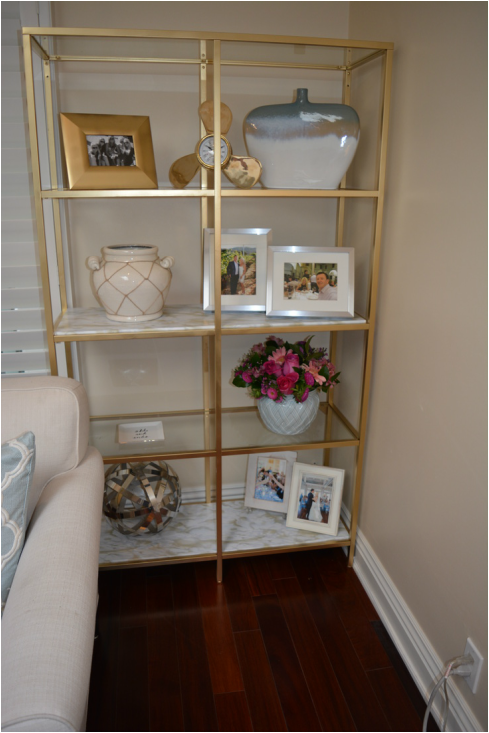 Diy Gold Shelves It Girl Weddings