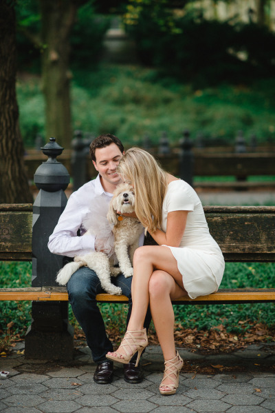 Nyc Engagement Session It Girl Weddings
