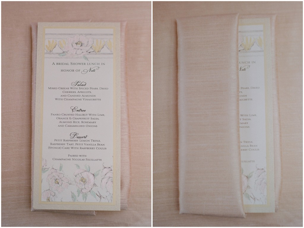 pale yellow wedding invitations