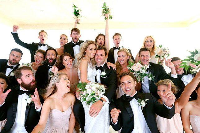 Lauren Conrad wedding selfie photo
