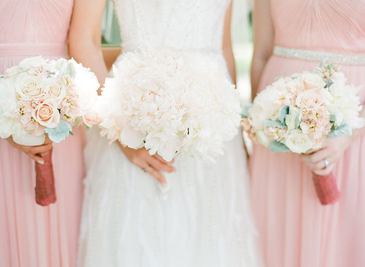 blush pleated bridesmaid dresses with embellished belt