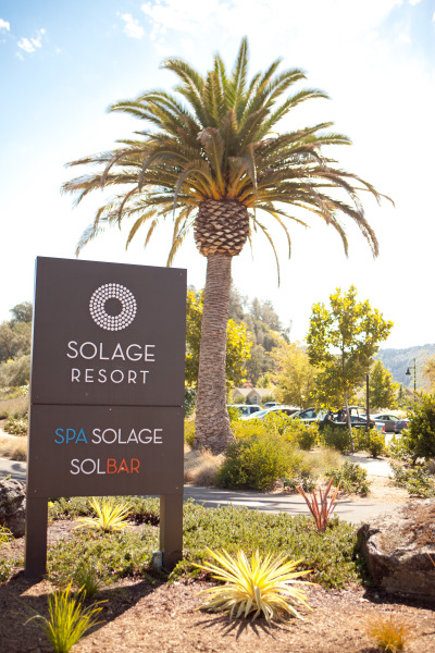 Solage resort sign