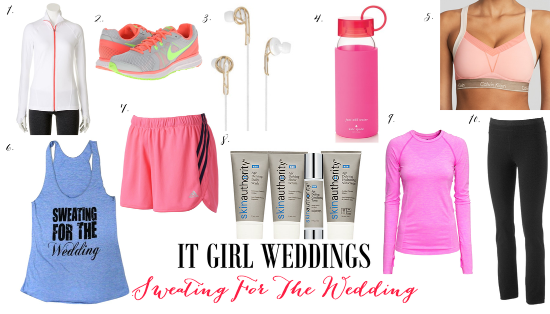 sweating for the wedding workout clothes picks