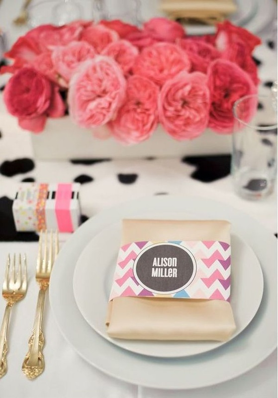 cute bridal shower place cards