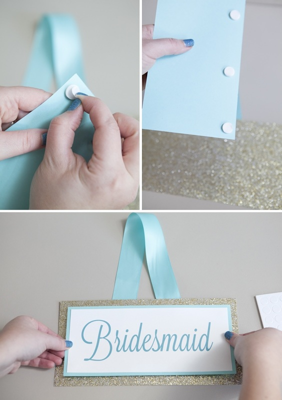 wedding chair sign how-to