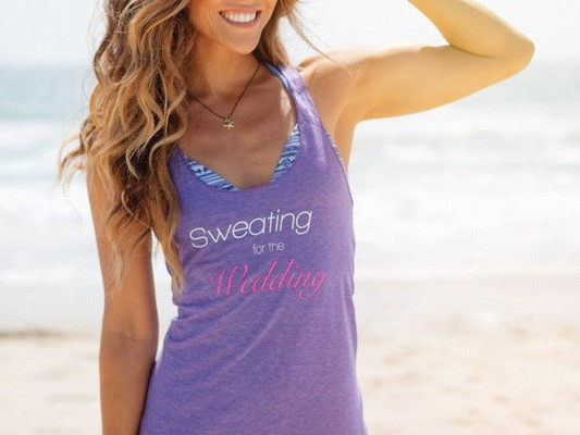 SWEATING FOR YOUR WEDDING