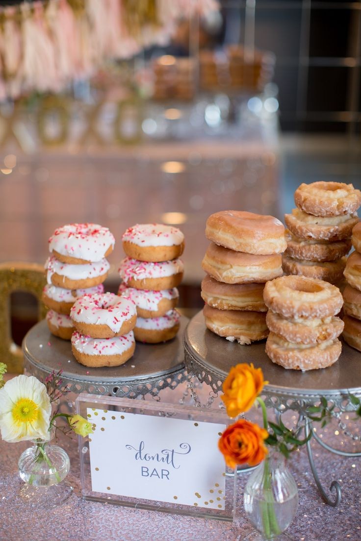 bridal shower donut bar