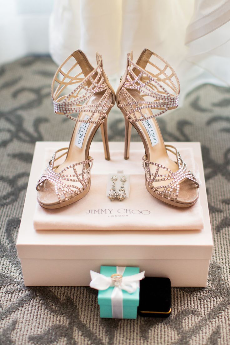 crystal gold jimmy choo wedding shoes