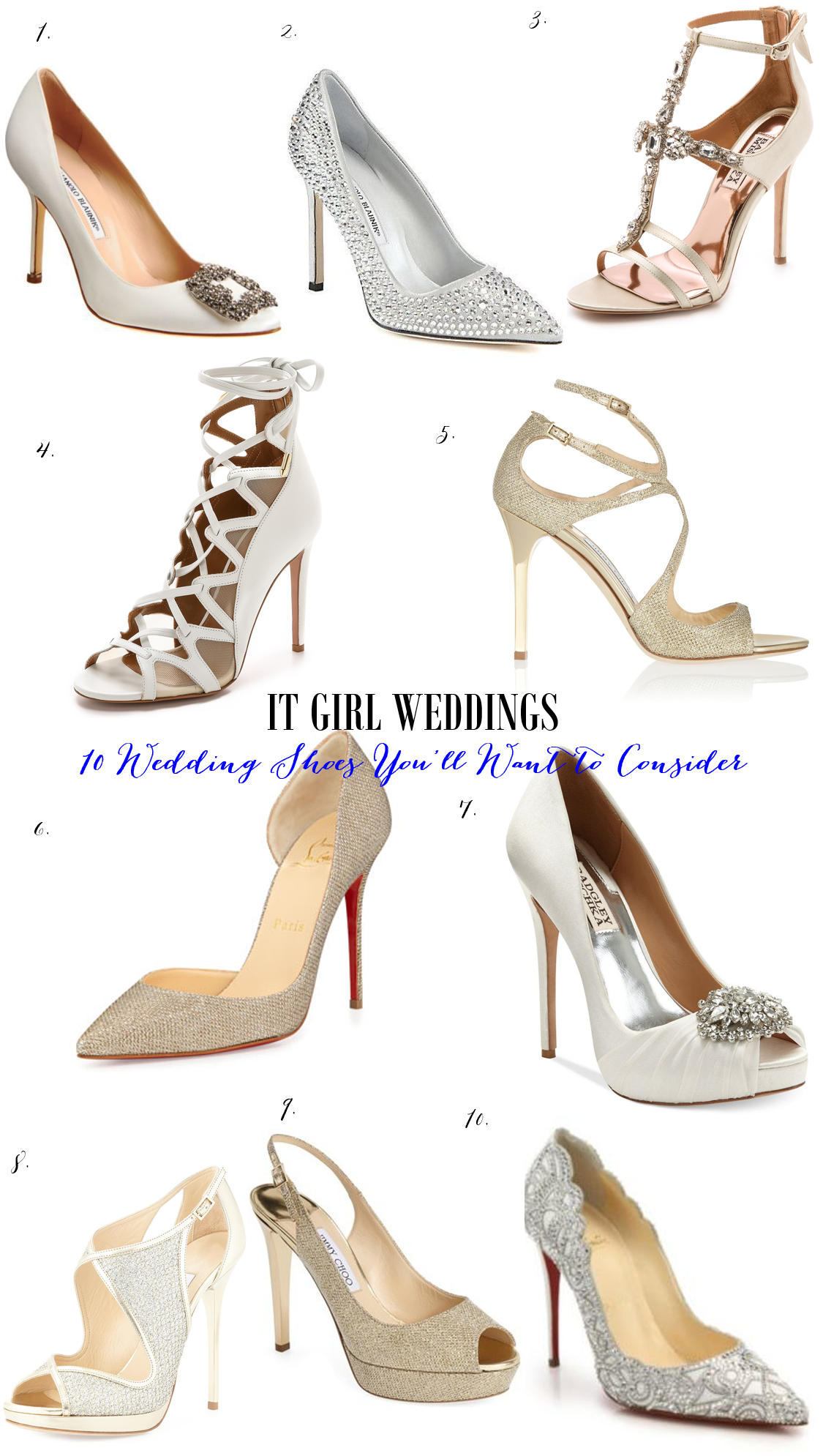 10 wedding shoes you'll want to consider before your wedding, new wedding shoe styles