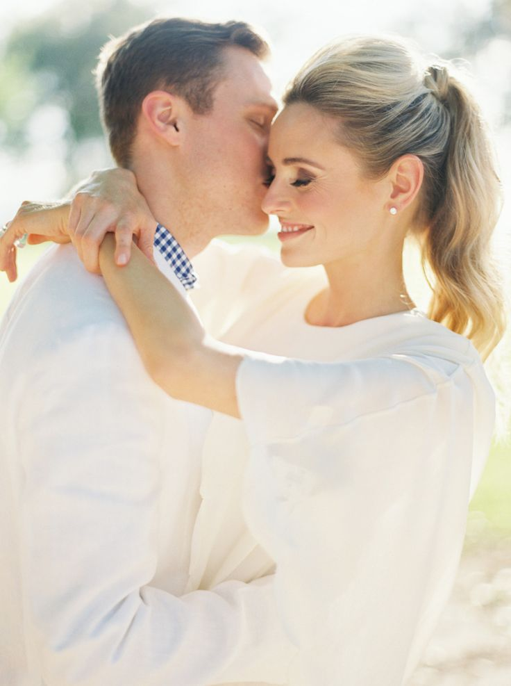 romantic styled engagement session