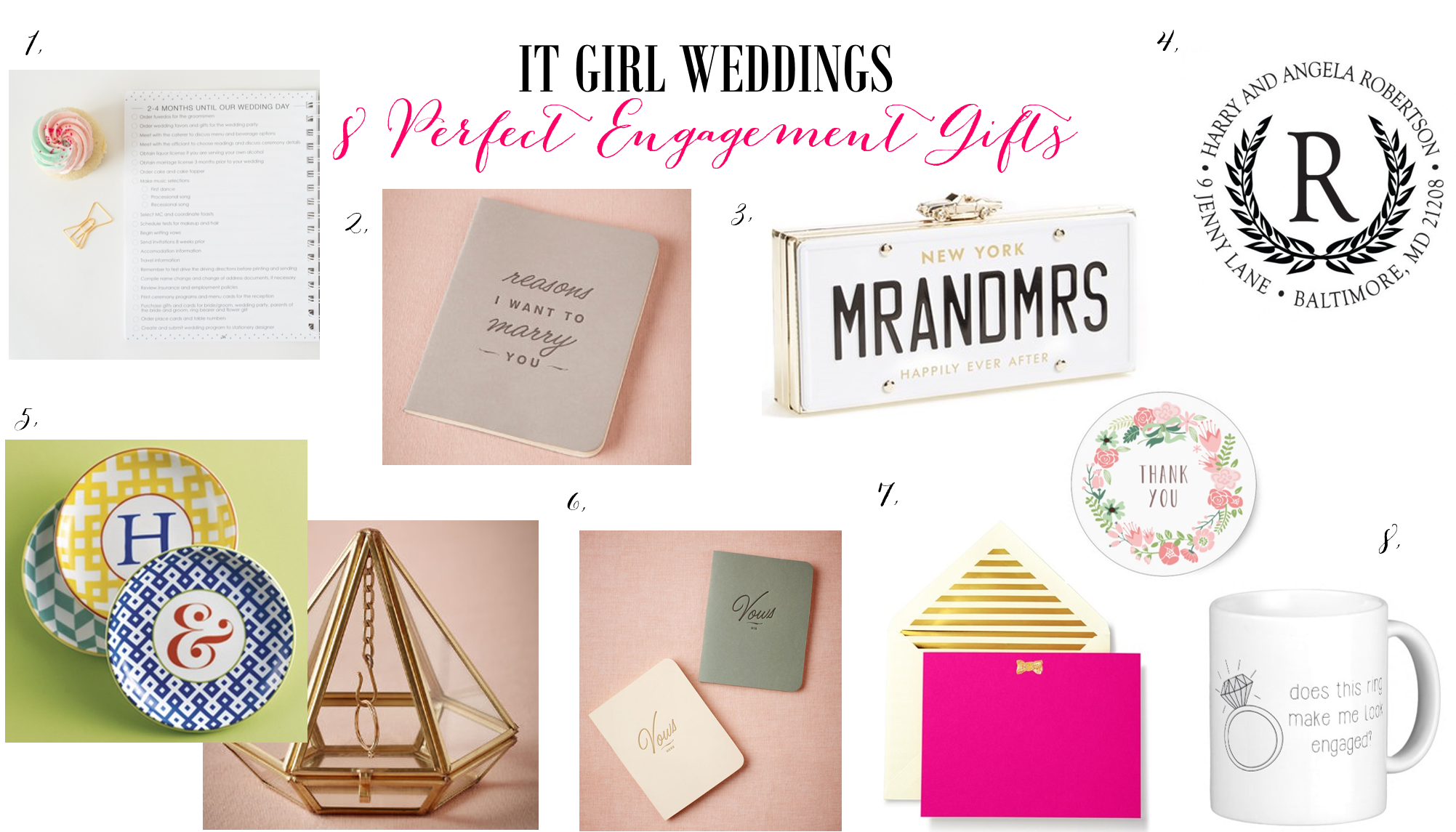 Wedding Gifts For Girl: 8 Of The Best Engagement Gifts