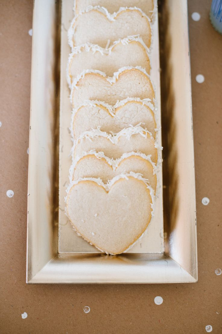 heart shaped bread