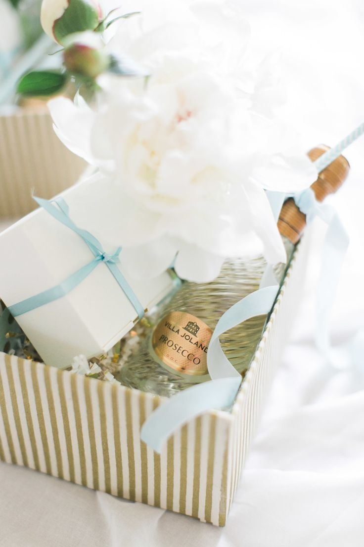 DIY wedding gift box