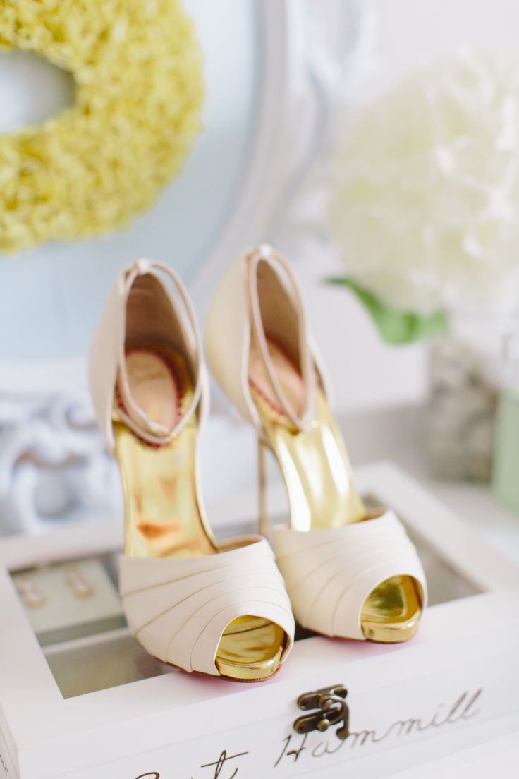 white designer wedding shoes