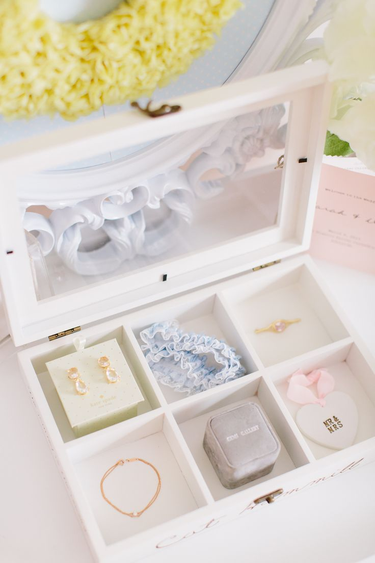 bridal keepsake box