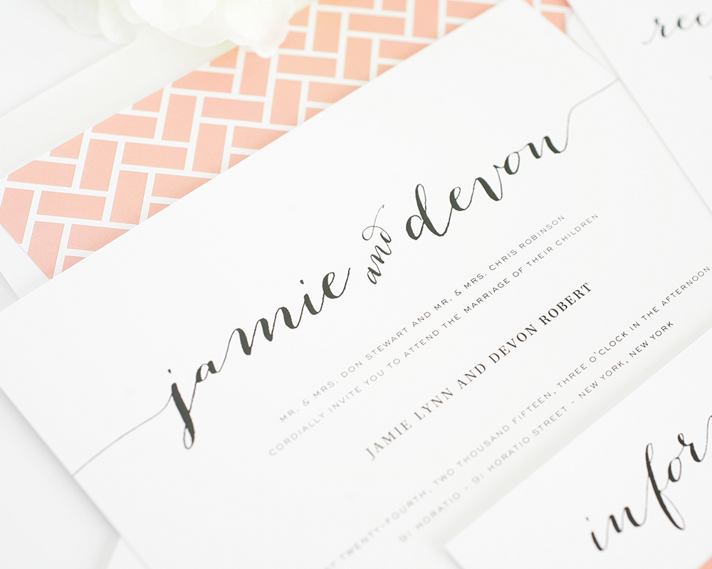 How to write wedding invitations | It Girl Weddings