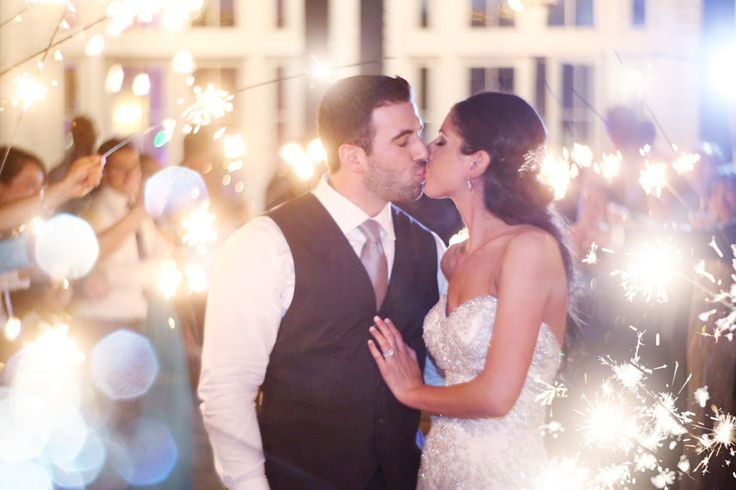 dreamy wedding sparklers wedding send off