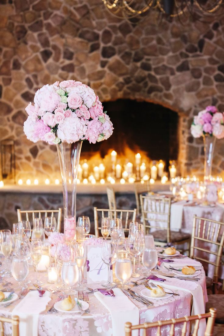pink and purple wedding inspo