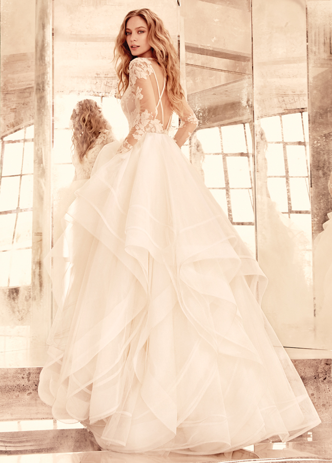 Bridal collection by hayley paige it girl weddings for Hayley paige wedding dress