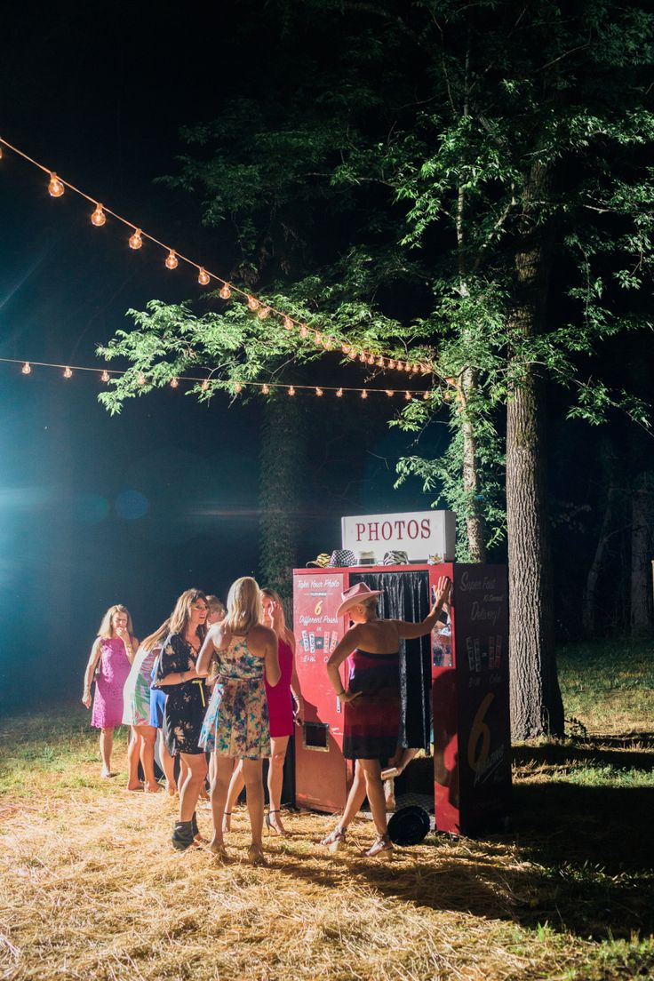 vintage outdoor photo booth