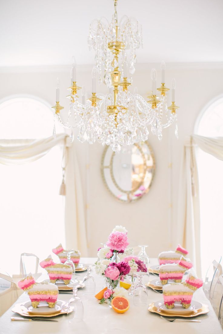pink mexican themed bridal shower