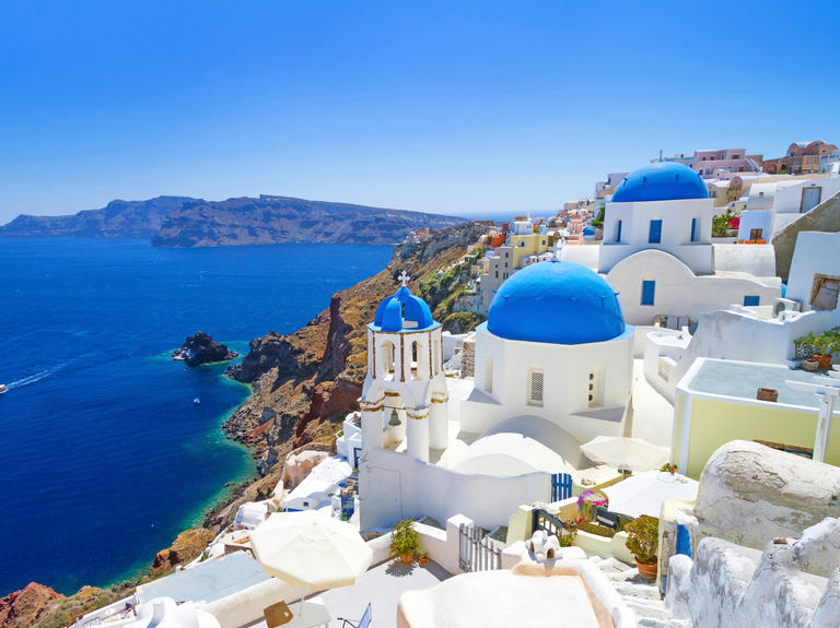 Greece honeymoon location, European honeymoon destination