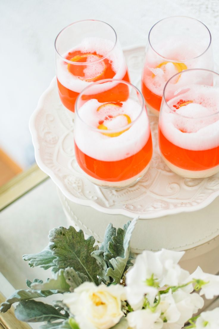 bridal shower cocktails