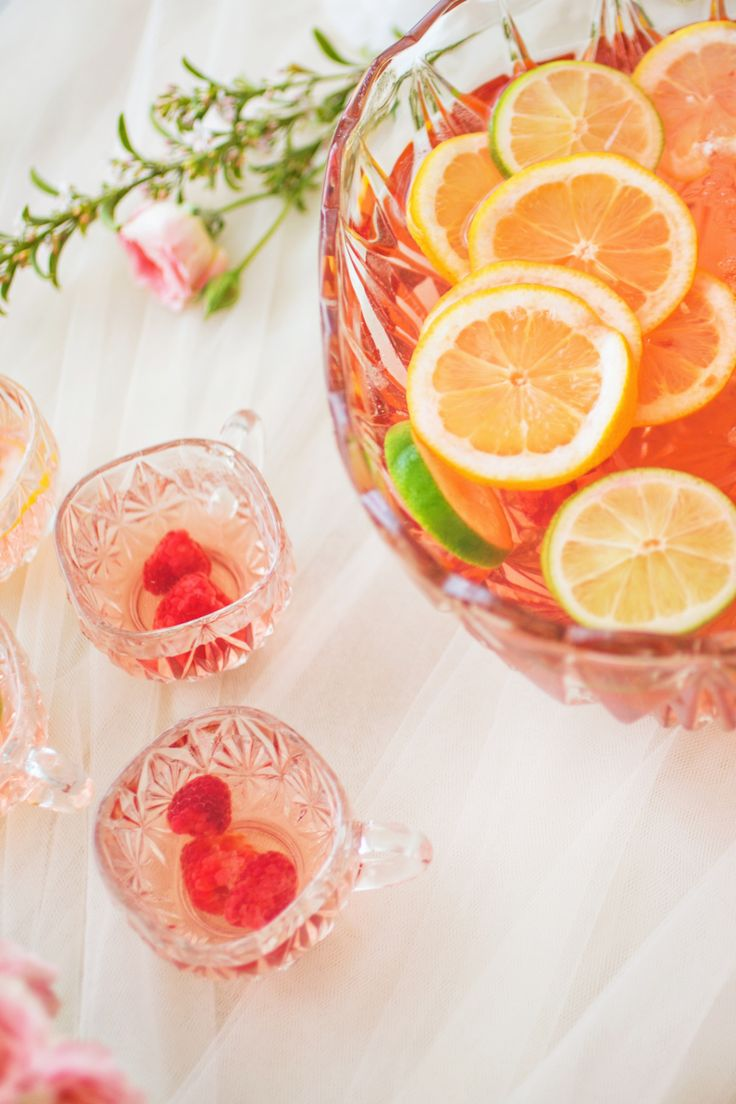 bridal shower sangria