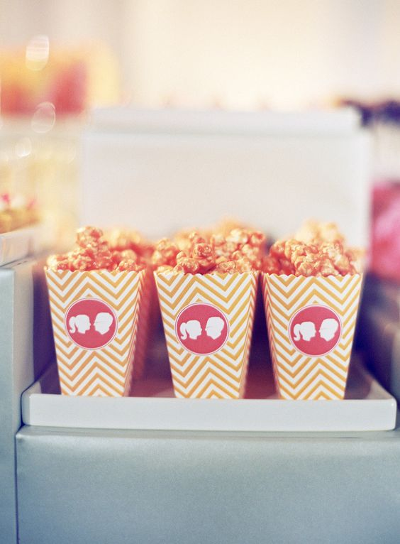 popcorn wedding snack