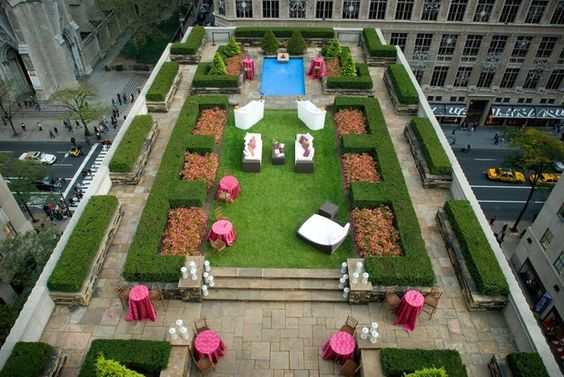 30 Rockefeller rooftop wedding
