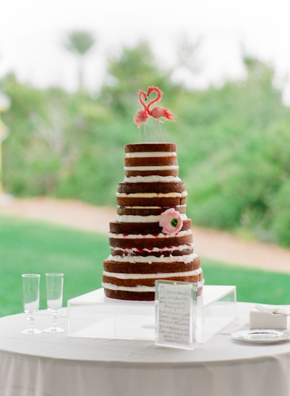 naked-cake-with-flamingo-cake-topper