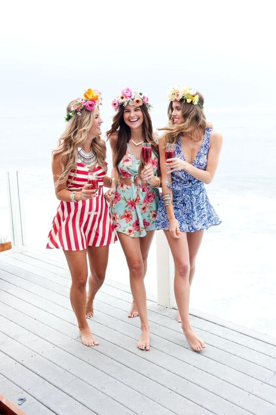 girls-in-sun-dresses-and-flower-crowns-at-beach-house