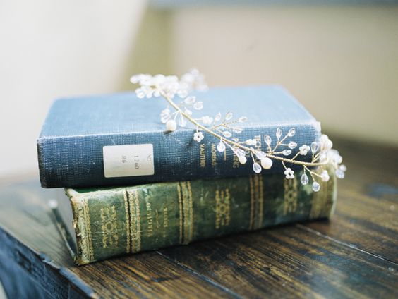 jewel-halo-crown-on-books