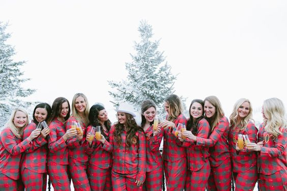 FLANNEL THEMED BACHELORETTE PARTY WEEKEND